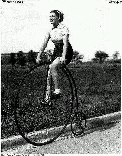 La bicicleta y el feminismo
