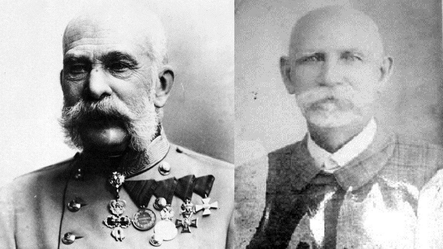 El emperador Francisco y Justo Armas