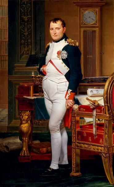 Napoleón y su mano