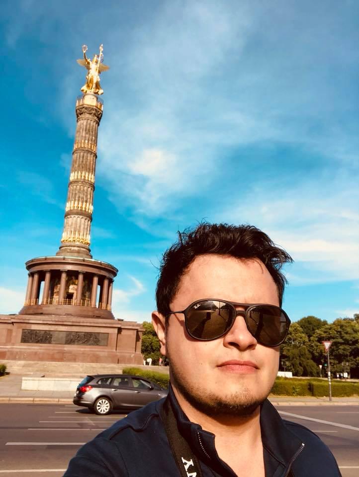 """""""Ángel de la Independencia"""" en Alemania"""