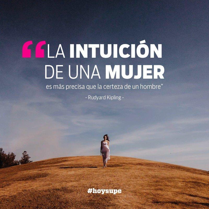 La intuición de la mujer